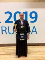 Кирилл Минченков на турнире по Кендо во Владивостоке