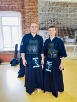 Поздравляем Кирилла Минченкова с аттестацией на 4 дан Кендо